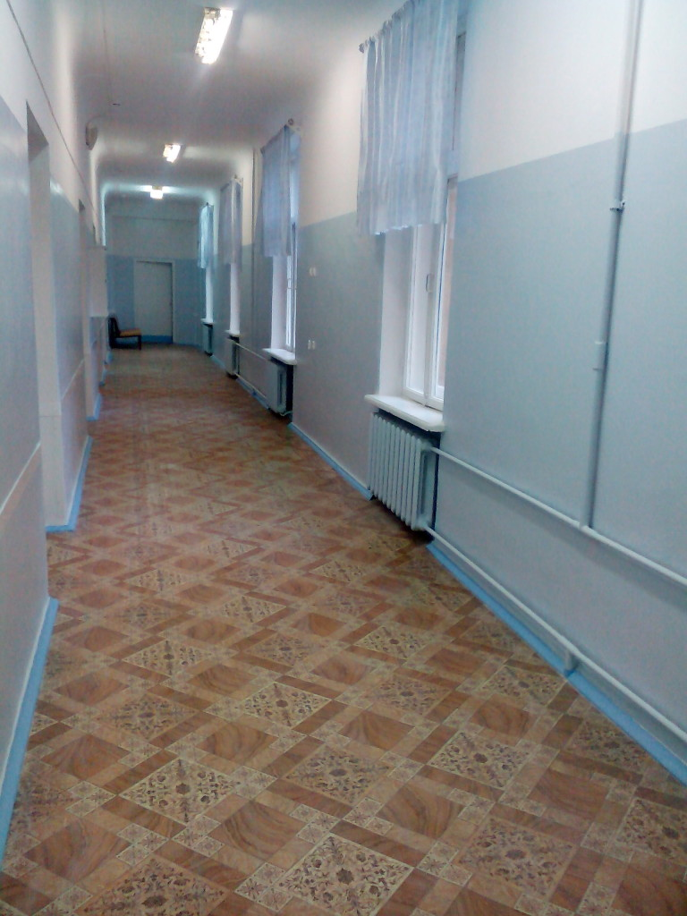 коридор травмотологического отделения